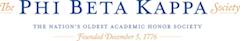 Phi Betta Kappa Honor Society